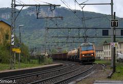 BB 26094 à St Rambert en Bugey (bb_17002) Tags: train alpes de lyon railway route locomotive fret extérieur infra freight chemin fer wagons sncf rhones véhicule câble bb26000 marchandises