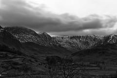 Kentmere (Thomas Coates) Tags: blackandwhite mountains monochrome lakedistrict kentmere