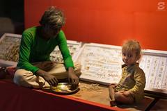 Pushkar (Sugesh Gopal) Tags: india dinner rural kid dad father son nomad pushkar rajasthan dadandson ruralindia