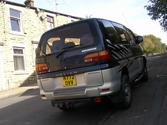 Mitsubishi  Delica  Chamonix (Lawrence Peregrine-Trousers) Tags: japanese 4x4 market space gear chamonix mitsubishi jdm mpv delica ffffffffff autoshite