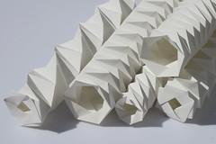 Faltung Steinpapier, Tube Folding (Kristina Wiling) Tags: origami tessellation rockpaper faltung wissling steinpapier tubefolding