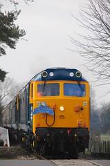 50 050 (D400) + 50 007 (D407) - Wymondham (GreenHoover) Tags: hoover fearless wymondham mnr englishelectric class50 d400 50007 siredwardelgar d407 railblue 50050 midnorfolkrailway 50050fearless 50007hercules