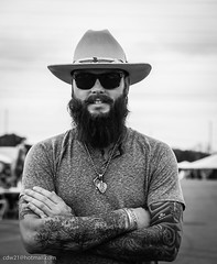 Hanging out at Brazos River Ribfest 2016 in Waco Texas (cdw21) Tags: people blackandwhite male men canon texas waco