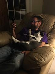 The Day After (ShanMcG213) Tags: cats love cat joey cina catandowner blackandwhitecat lovefest whiteandblackcat joeybutler