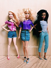 Teen Dream - Denim Edition (J.Garibay) Tags: fashion barbie style move grace made glam luxe francie m2m fashionistas dollphotography dollcollector barbiestyle jgaribay