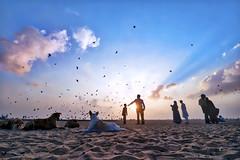 Sunrise with Heaven Rays... (aestheticsguy2004) Tags: people india clouds marina sunrise landscape nikon skies ngc madras marinabeach chennai dramaticsky southindia twop landscapephotography incredibleindia skyrays sunrisephotography tamilnadubeach discoverindia colorsinsky heavenrays nikond750 neeteshphotography neeteshpics tamron1530 nikond750tamron1530