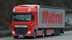 A - Hauser >Thoni< DAF XF 106 SSC (BonsaiTruck) Tags: truck 106 lorry camion trucks lastwagen daf lorries hauser lkw xf lastzug thni