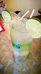Cubana Mojito (alanosaur) Tags: food toronto restaurant la drink beverage mint alcohol meal mojito rum lime cubana 2016