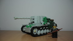 Marder II (italianww2builder) Tags: 2 war tank lego destroyer ii ww2 custom build panzer marder
