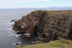 Cliffs at Point of Stoer (milnefaefife) Tags: sea seascape landscape coast scotland highlands rocks cliffs hills shore moor sutherland moorland stoer assynt northwesthighlands pointofstoer stoerhead