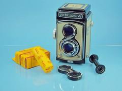 Vintage view... 1959 (www.yashicasailorboy.com) Tags: camera 120 tlr film japan studio kodak collection yashica 1959 yashicaa 6x6cm