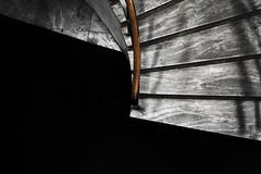 suspension of perception I (RegiCardoso) Tags: bw texture arquitetura pb staircase abstraction escada minimalism minimalismo abstrato escalier escadaria lessismore monocromtica monocromie minimnal