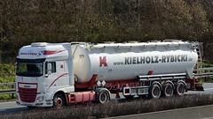 D - Kielholz & Rybicki >171< DAF XF 106.460 SSC (BonsaiTruck) Tags: truck silo 106 lorry camion trucks bulk lastwagen daf lorries lkw xf ffb citerne rybicki lastzug silozug feldbinder kielholz powdertank