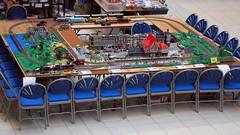 Neuffen - Birds eye view (Duq) Tags: show layout lego display trains birdseyeview neuffen modelshow