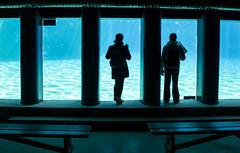 Ainhoa y Lucie (palm z) Tags: parque france banco bancos francia acuario plantesauvage