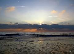 Holland Noordsee Sunset (JaapCom) Tags: sunset sky cloud sun water clouds sunrise reflections noordzee wolken zee paysbas aan noordholland egmond spiegeling noordsee dutchnetherlands jaapcom