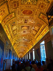 Map Room at the Vatican Museum. (Nigel Rudyard) Tags: vatican rome indoor ceiling