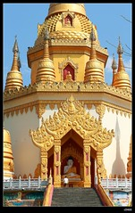 DP1U7132 (c0466art) Tags: trip travel blue light sky cloud tower water beautiful festival canon temple golden scenery bright buddha chinese spill 2016 1dx c0466art