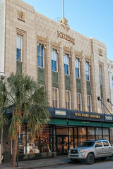 S.H. Kress Building (1931), view04, 281 King St, Charleston, SC, USA (lumierefl) Tags: usa building sc retail architecture 1930s unitedstates south protest southcarolina business charleston commercial storefront shops northamerica africanamerican artdeco 1960s southeast stores 510 20thcentury charlestonsc civildisobedience civilrights fiveanddime varietystore sitin fiveandten lunchcounter charlestoncounty fiveandtencentstore