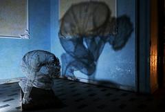 sofferenze (daniel gigliotti2012) Tags: opera arte ombre luci cz riflessi statua calabria catanzaro metallo sofferenza