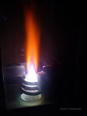 My first lab photos (2005) - ICP plasma (ChemiQ81) Tags: lab torch laboratory plasma icp palnik chemiq