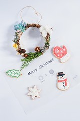 (EndlessJune) Tags: beautiful cookies 50mm nikon handmade royal garland wreath gift present icing merry chirstmas merrychristmas royalicing nikon d7000