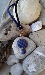 20160107_111926 (katerina66) Tags: necklace handmade jewellery polymerclay silkscreen handmadejewellery    velvetcord