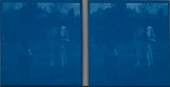 Swahili girl Mariam Ascha and Kirsti Gallen-Kallela standing in front of the family's last African home in Nairobi in October 1910 (copy 2). (The Gallen-Kallela Museum) Tags: africa friends girl children kenya nairobi hats clothes stereograph kenia swahili lapset tytt afrikka ystvt vaatteet akseligallenkallela hatut stereokuva gallenkallelanmuseo thegallenkallelamuseum kirstigallenkallela