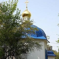 Храм блаженной Ксении Петербургской (Святошинское кладбище)
