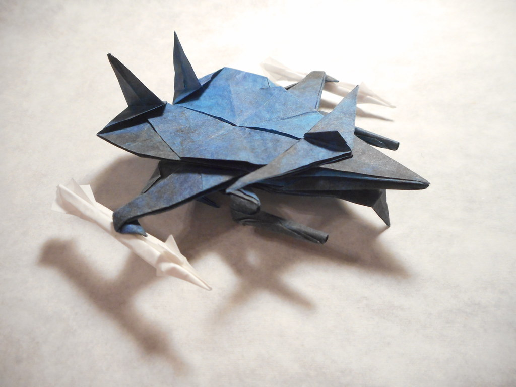 The worlds best photos of origami and transformer flickr hive mind malestrom mjaysonbellsouth tags origami transformer jet jeuxipadfo Images