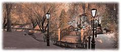 Let it Snow! - Jan 2016 (inarapey) Tags: winter light shadow art landscape photography photo sl secondlife letitsnow sim virtualworlds slurl islesoflyonesse