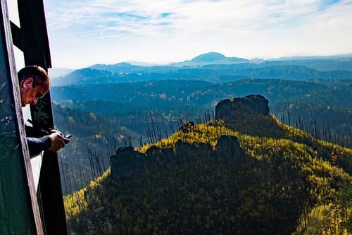 České Švýcarsko #ceskesvycarsko #cesko #jetrichovice #les #wood #krajina #landscape #nebe #sky #green #blue #czech #europe