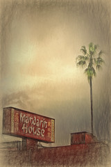 Mandarin House (Artypixall) Tags: california texture sandiego palmtree chineserestaurant faa bankershill mandarinhouse