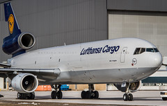 Lufthansa Cargo MD11F (360 Photography) Tags: canada weather tarmac plane germany airplane md ramp mechanical montreal aviation cargo lh lufthansa dorval avion md11 yul mcdonnelldouglas trijet 2016 050216 lufthansacargo dalcd mathieupouliot dlh8160