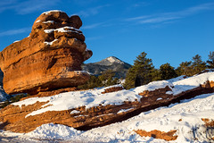 IMG_8982_edited-1 (bruce.hausknecht) Tags: winter snow gardenofthegods coloradosprings balancedrock