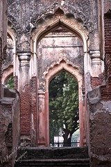 The Lost Gate (King Kiaan) Tags: india architecture ruins gate pattern symbol historic residency lucknow mughal ruinsofindia