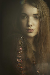 Patrycja (lucrecia lee) Tags: shadow portrait woman girl face model glamour pretty sitting gorgeous young longhair sensual gown sequins seductive graceful milky youngwoman stylish subtle glamorous fulllips