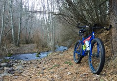 Charlie Creek Ride (Doug Goodenough) Tags: bicycle cycle bike ride pedals spokes asotin charlie creek gravel dirt stream winter warm 2016 16 feb february surly pugsley 29 plus drg53116 drg53116p drg531ppugsley drg531