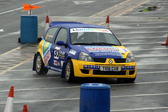 Renault Clio (DaveWilcock) Tags: west rally north clio stages renault fleetwood northweststagesrally2016