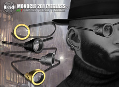 [Since 1975] MONOCLE 201 Glass (unisex) ([ Since 1975 ]) Tags: life new male glass fashion female jack couple phone mesh jill path or sl secondlife second unisex hunt cases joj