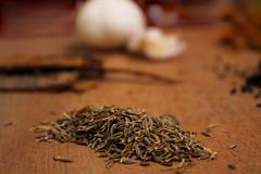 Caraway Jeera Cumin (hafshazamananney) Tags: garlic jeera browncolor carawayjeera