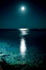 Puglia. (unciclamino) Tags: sea moon
