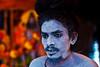 The Blue Gods follower (shubhankrishi) Tags: india celebration hindu baba ganga sadhu naga hindufestival ganges nashik festivalofindia kumbh trimbakeshwar nagababa mahakumbh massgathering
