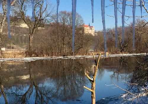 View of Castle Goseck