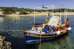 IMA_6144  Summer Colour (foxxyg2) Tags: blue sea boats fishing sand aegean greece greekislands cyclades naxos islandhopping islandlife alyko