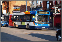 Stagecoach Manchester 22324. (PS_Bus_Driver) Tags: mn 22324 alexanderalx300 stagecoachmanchester man18220 ae51rza middletongarage service118