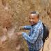hoofprints of St. George's horse (Ashenafi) Eth_0340