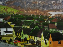 Mossy Roofs, Limerick City (niall mccarthy) Tags: ireland houses urban irish green art painting moss paint acrylic roofs everyday typical mossy acrylics limerick ordinary limerickcity niallmccarthy