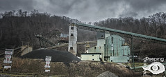 Same Ole Story Across The Line (Peeping Dragon Photography) Tags: plant industry rural nikon mine decay kentucky ky mining coal preperation tipple d300s