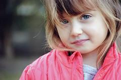 lil' cutie (vikkiq) Tags: portrait girl closeup eyes